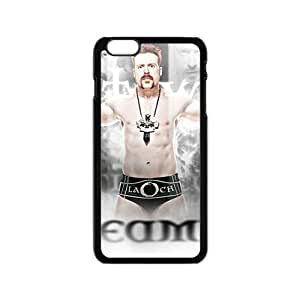 diy zhengHappy WWE Wrestling Fighter Black Phone Case for iPhone 6 Plus Case 5.5 Inch