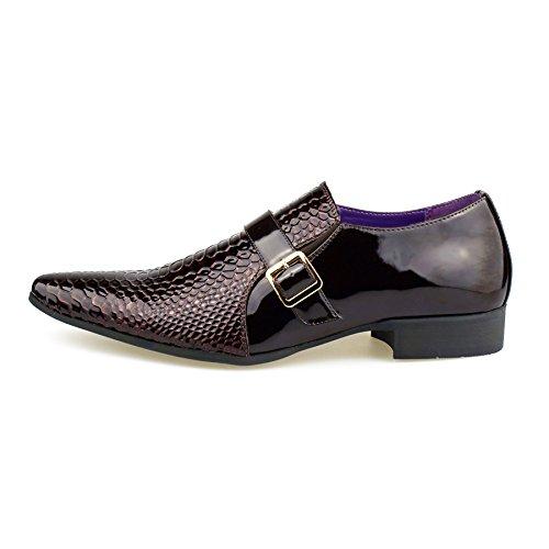Sandalen London Keilabsatz Herren Footwear Durchgängies Plateau mit Braun Ura4Irqn