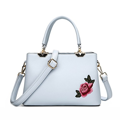 For girls Chinese Handbag Pu Women Howoo Crossbody Bag Messenger Embroidered Style Shoulder gpW6Zqw