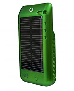 Novothink NT02-GRN Surge Hybrid Solar Charger for iPod touch 2G (Metallic Green)