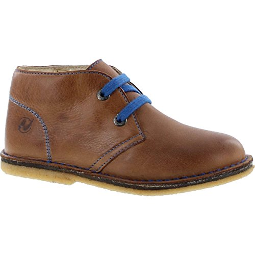 Naturino Boys 4528 Lace Up Casual Chukka (Naturino Brown Boots)