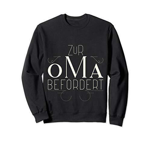 (Zur Oma Befördert T Shirt - Geschenk werdende Oma Sweatshirt)