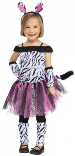 Zebra Costume - Toddler Large (Halloween Costume Ideas 14 Year Olds)