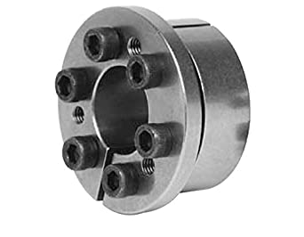 Lovejoy 1450 Series Shaft Locking Device, Metric, 45 mm shaft diameter x 75mm outer diameter of shaft locking device, 1253 ft-lb Maximum Transmissible Torque