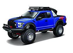 Maisto Design Off-road Kings 2017 Ford F150 Raptor Variable Color Diecast Vehicle (1:24 Scale)