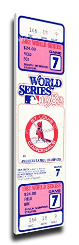 That's My Ticket 1982 World Series Mega Ticket Wall Decor, St Louis Cardinals