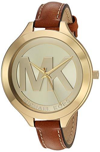 Michael Kors Women's Slim Runway Brown Watch MK2326