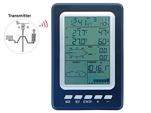 WS1030 Wireless Weather Station with Solar Sensor by LinkSprite