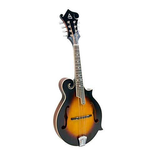 - Hohner A+ F-Style Sculpted Fingerboard Mandolin w/ Padded Gig Bag - Tobacco Sunburst