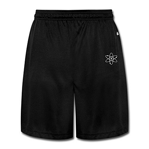 CEDAEI Big Bang Theory Logo Comfortable Mens Training Shorts Sport Sweatpants Black - Online Cheap Gucci