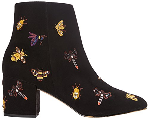 Steve Madden Livia Ankle Boot, Stivali Donna Nero (Nero)
