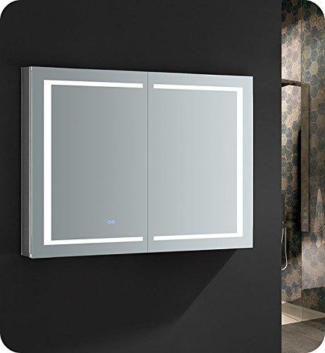 Fresca Spazio 48 inch Wide x 36 inch Tall Bathroom Medicine Cabinet -