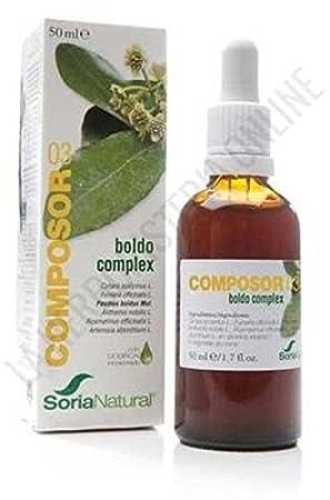 Soria Natural Composor 3.Boldo Complex - 50 mililitros: Amazon.es: Salud y cuidado personal
