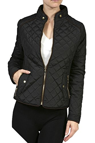 2LUV-Plus-Womens-Plus-Size-Quilted-Long-Sleeve-Zip-Front-Jacket