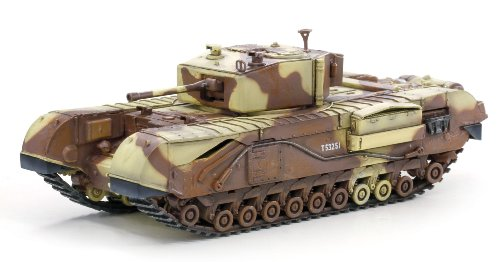 Price comparison product image Dragon Models Churchill Mk.III Tunisia 1943 Tank Model Building Kit,  1:72 Scale