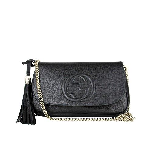 Black Gucci Handbag - 8