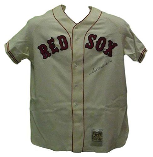 Ted Williams Autographed Boston Red Sox Mitchell & Ness Jersey ()