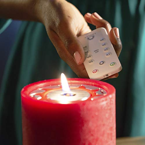LuDela Remote Control Real-Flame Candle Starter Set | Smart Candle with Remote Control and Alexa Compatibility | Built-in Safety Technology | Always Bright, Natural Candlelight at a Touch of a Button by LuDela (Image #2)