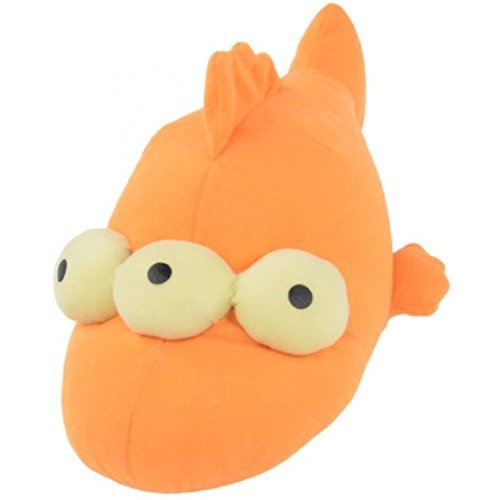 Simpsons 1000409 The Blinky Soft Toy Approx. 25cm Orange -
