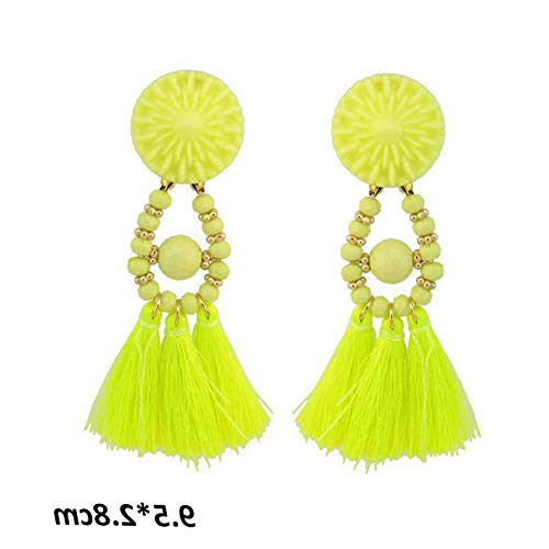 Dokis New Women Boho Crystal Drop Dangle Vintage Elegent Ear Stud Earrings Jewelry | Model ERRNGS - 2378 | ()