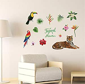 Popular wall stickers, bedroom and hall wall stickers, Exquisite and stylish PVC wallpaper