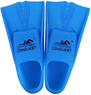 TOPCHAMCES(TM) Rubber Swim Training Fins Flippers for Men, Women and Kids, Short Training Fins for Swimming