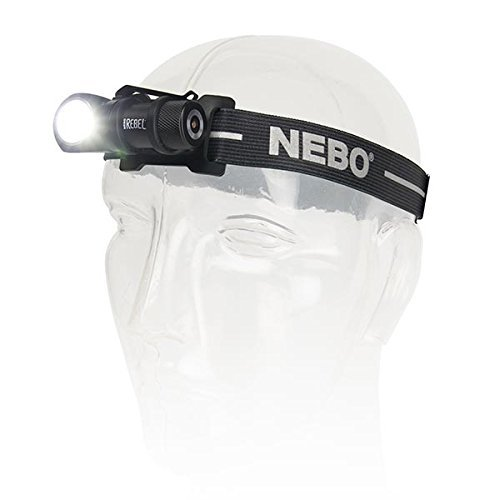 NEBO REBEL Tactical Head Lamp: Small enough to fit in the palm of your hand, this powerful Rechargeable Head Light rebels against its size with its impressive 600 lumen output and 4 Working Modes  by NEBO (Image #5)