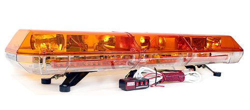 New BOVATECH 48'' Emergency Halogen Strobe Tow Truck SUV Lightbar
