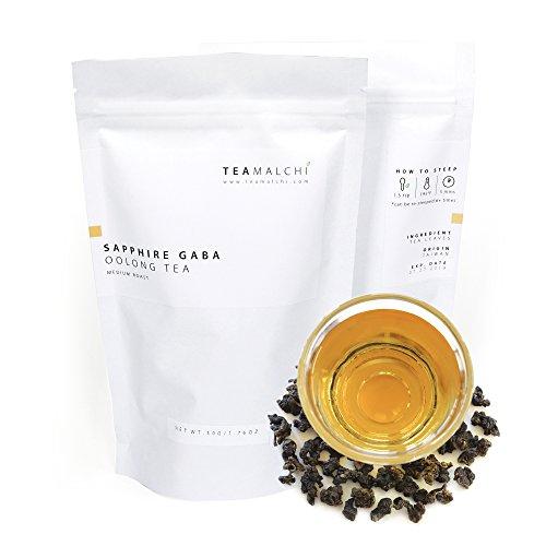 Natural Taiwan High Mountain Sapphire GABA Loose Leaf Oolong Tea, 50g/1.76 oz by TEAMALCHI