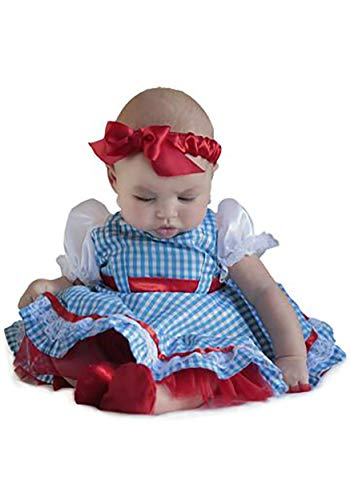 Princess Paradise Baby Girls' The Wizard of Oz Dorothy Newborn Deluxe Costume, As As Shown 0/3M