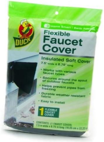 [해외]Duck Brand 280462 Insulated Soft Flexible Faucet Cover for Freeze Prevention (3-Pack) / Duck Brand 280462 Insulated Soft Flexible Faucet Cover for Freeze Prevention (3-Pack)