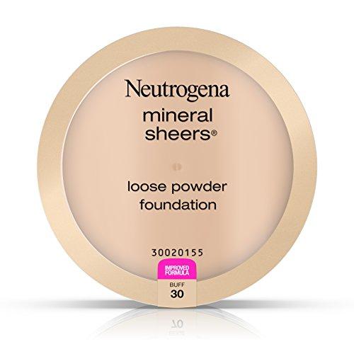 Neutrogena Mineral Sheers Loose Powder Foundation, Buff 30, .19 Oz.