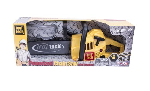 Redbox Tool Tech Powerized Chain Saw with Goggles