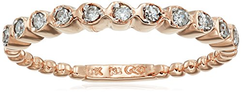 10k-Rose-Gold-White-Diamond-Ring-110cttw-H-I-Color-I2-I3-Clarity-Size-6