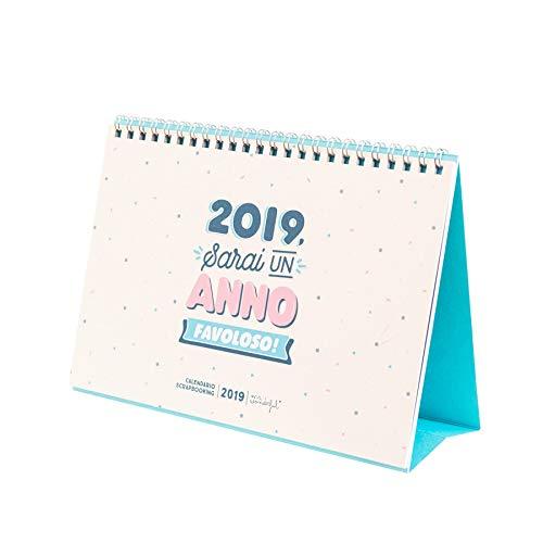 I Migliori Regali Di Natale 2019.Calendario Scrapbook Mr Wonderful 2019 Sara Un Anno Favoloso Mr