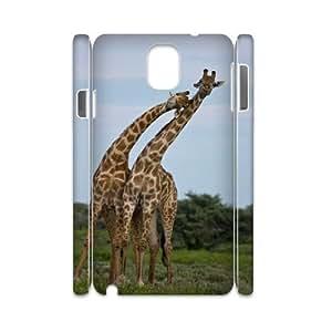 Y-M-D Giraffe Bumper Plastic Phone Cases Samsung Galaxy Note 3 N9000 3D Cover Case
