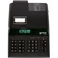 Monroe 8130X In Black 12-Digit Print/Display Professional Heavy Duty Calculator In Extended Life Calculator Body