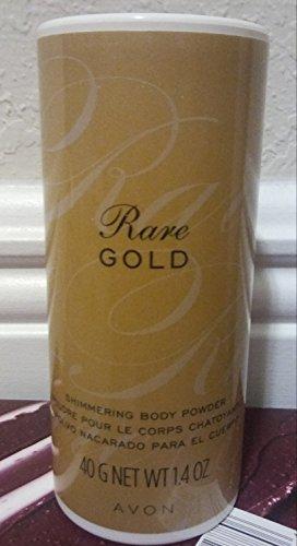 Gold Shimmering Body - Avon Rare Gold Shimmering Body Powder 1.4 Oz