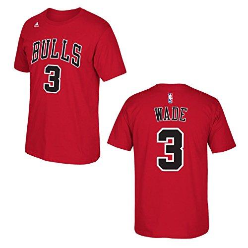 Dwayne Wade Chicago Bulls Basketball Jersey T Shirt - XL - Red