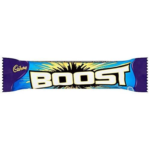 Cadbury Boost Chocolate Bar, 48.5g (Pack of 24)