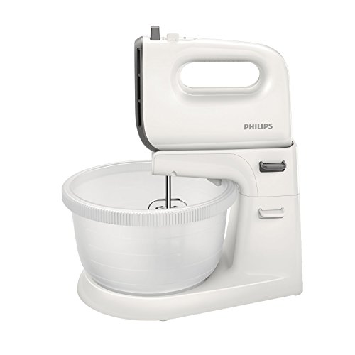 Philips Mixer Viva Collection, 450 W, 5 speeds + turbo Autodriven 3L Bowl Cashmere grey HR3745/00
