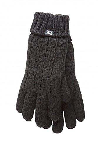 社会科拍手レンディションHeat Holders / ヒートホルダーズ - 手袋 レディース 保温性の高いウインターニット使用