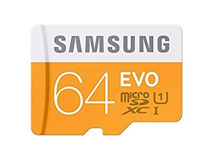 Amazon.com: Samsung Memory 64 GB Evo microSDXC UHS-I Grade 1 ...