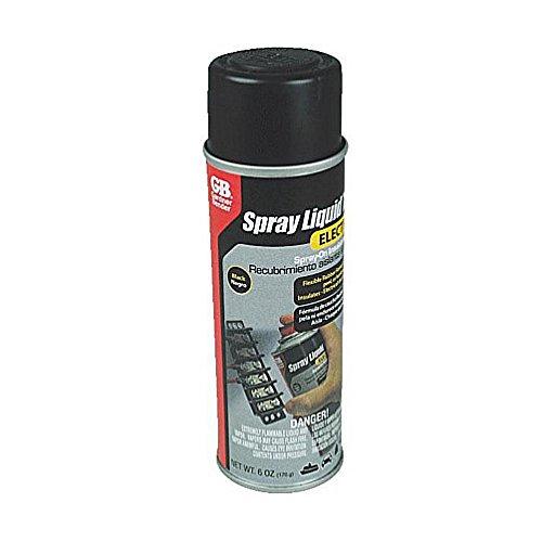 6 oz. Black Liquid Spray Electrical Tape