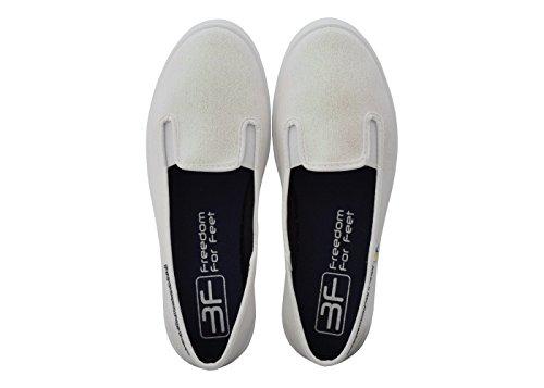 3f Lona Mujer 2g Freedom 5lb Cerrado de Feet 3 for Weiß rrAgq7
