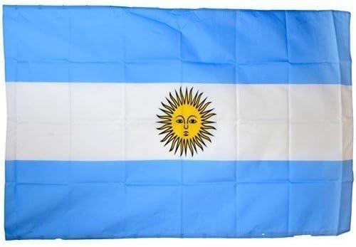 Argentina Bandera Bandera Bandera Argentina Especial COPA DEL MUNDO EM Equipo nacional Calcio: Amazon.es: Juguetes y juegos
