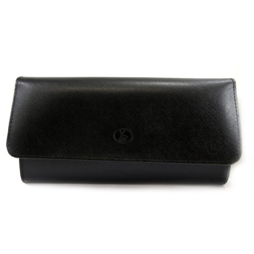 Pouch Leather 'frandi'negro Folds Bag 2 Sawq0q5