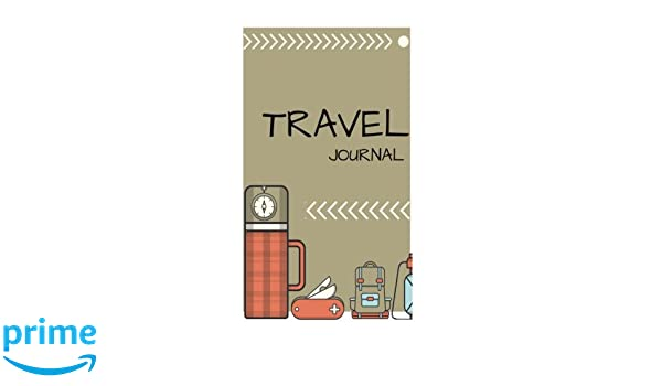 Notebook journal, travel theme, Diary.: Travel theme journal ...