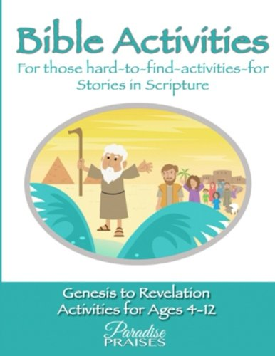Printable Activity Books For Children - Bible Activities & Printables from Genesis to Revelation