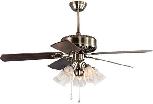 Tatosun Vintage ventilador lámpara de techo Ø126cm ventiladores ...
